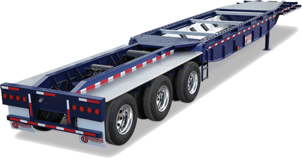 specialized heavy haul trailer
